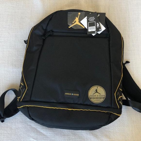 3e48f7b5ad3 Jordan x Asahd jumpman limited edition backpack. M_5c1557a304e33d0c93258f87
